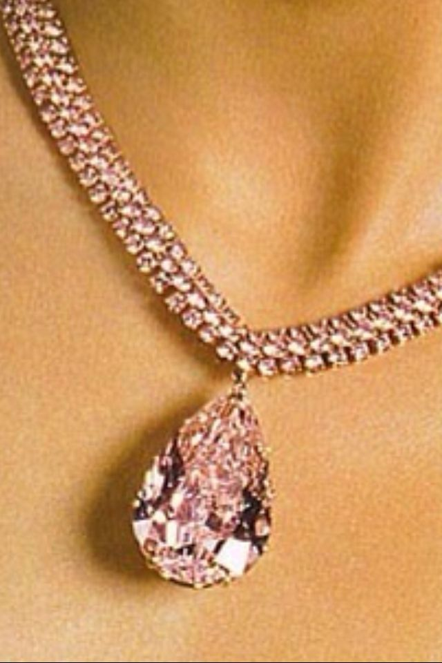 inc color pink necklace precious products diamond gr