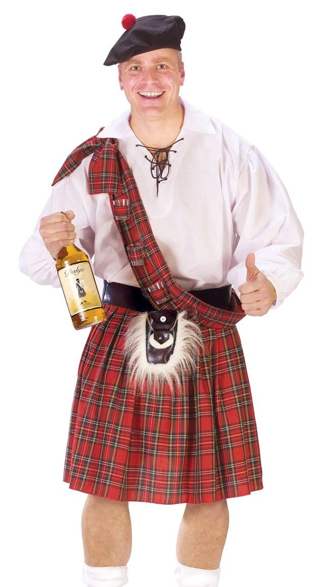 Nice butt in scotch kilt was wicked