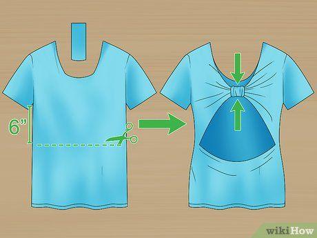 How to Cut a T‐shirt Cute