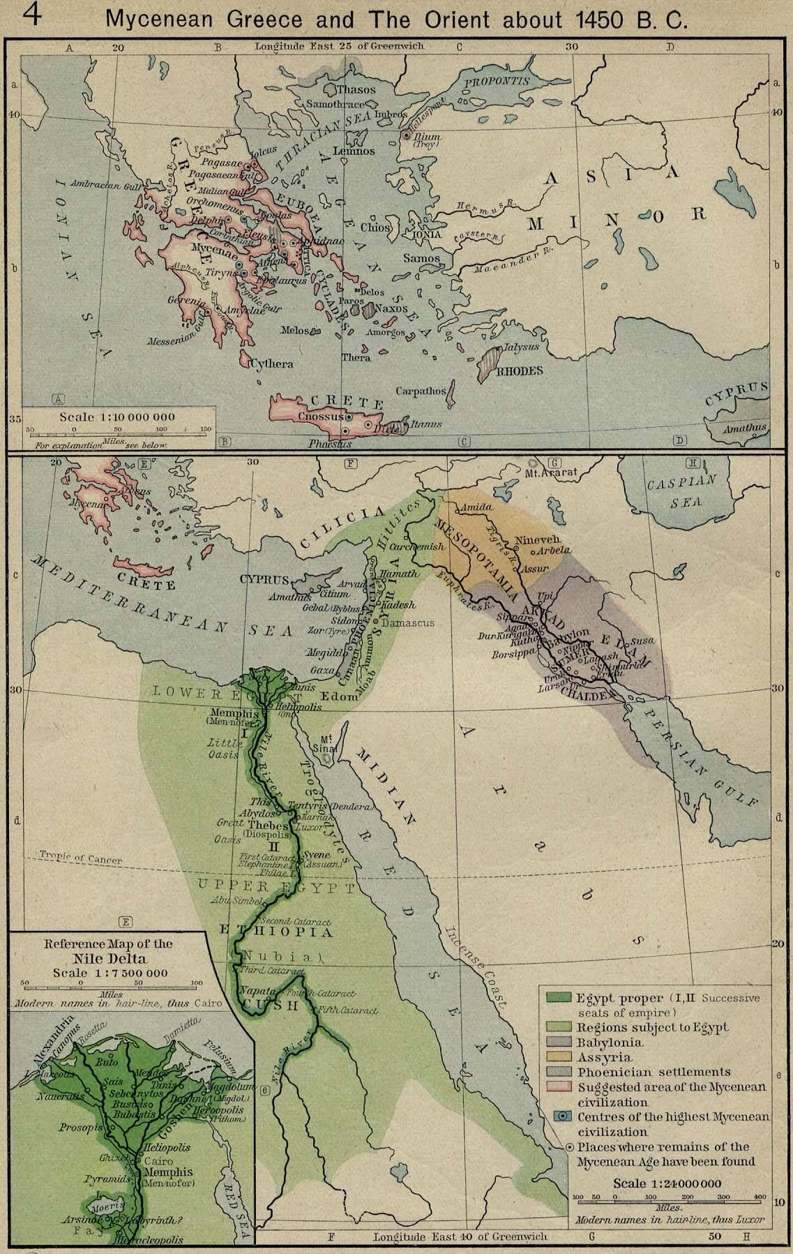 The Rise And Fall Of The Old Middle And New Kingdoms In