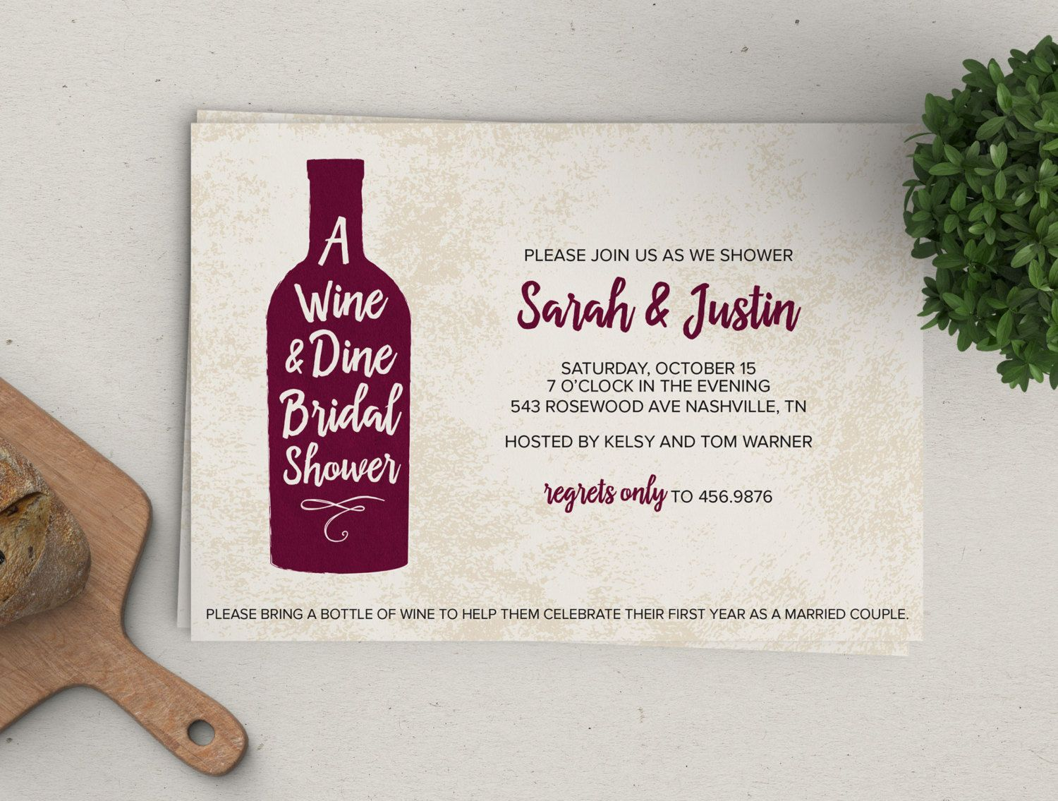 wine dine shower invitation weddingfavortags wine party engagement custom dinner party black couples shower bridal shower favor tags printable bridal