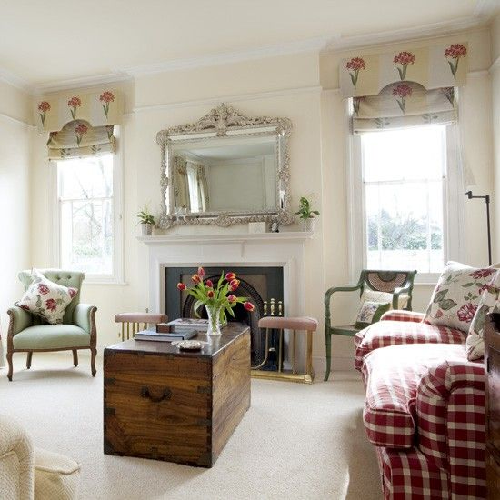 Eclectic Traditional Living Room Part 4