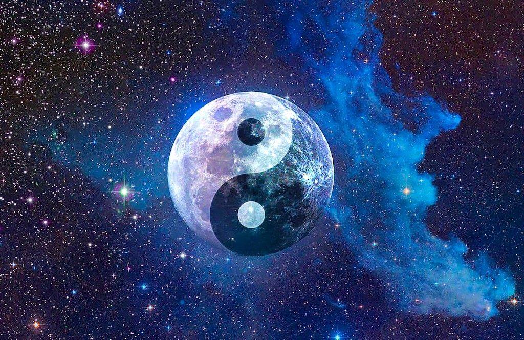 Tonight Libra Supermoon Vernal Equinox Join Forces Expect A Wave Of Powerful Energies Yin Yang Art Moon Art Print Moon Art