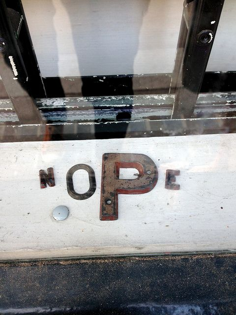 Nope | Never