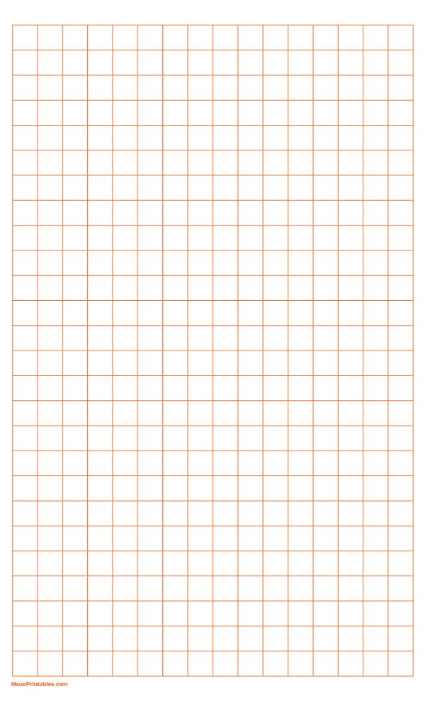 Printable Half Inch Orange Graph Paper For Legal Paper Free Download At Https Museprintab Printable Graph Paper Grid Paper Printable Paper Background Design
