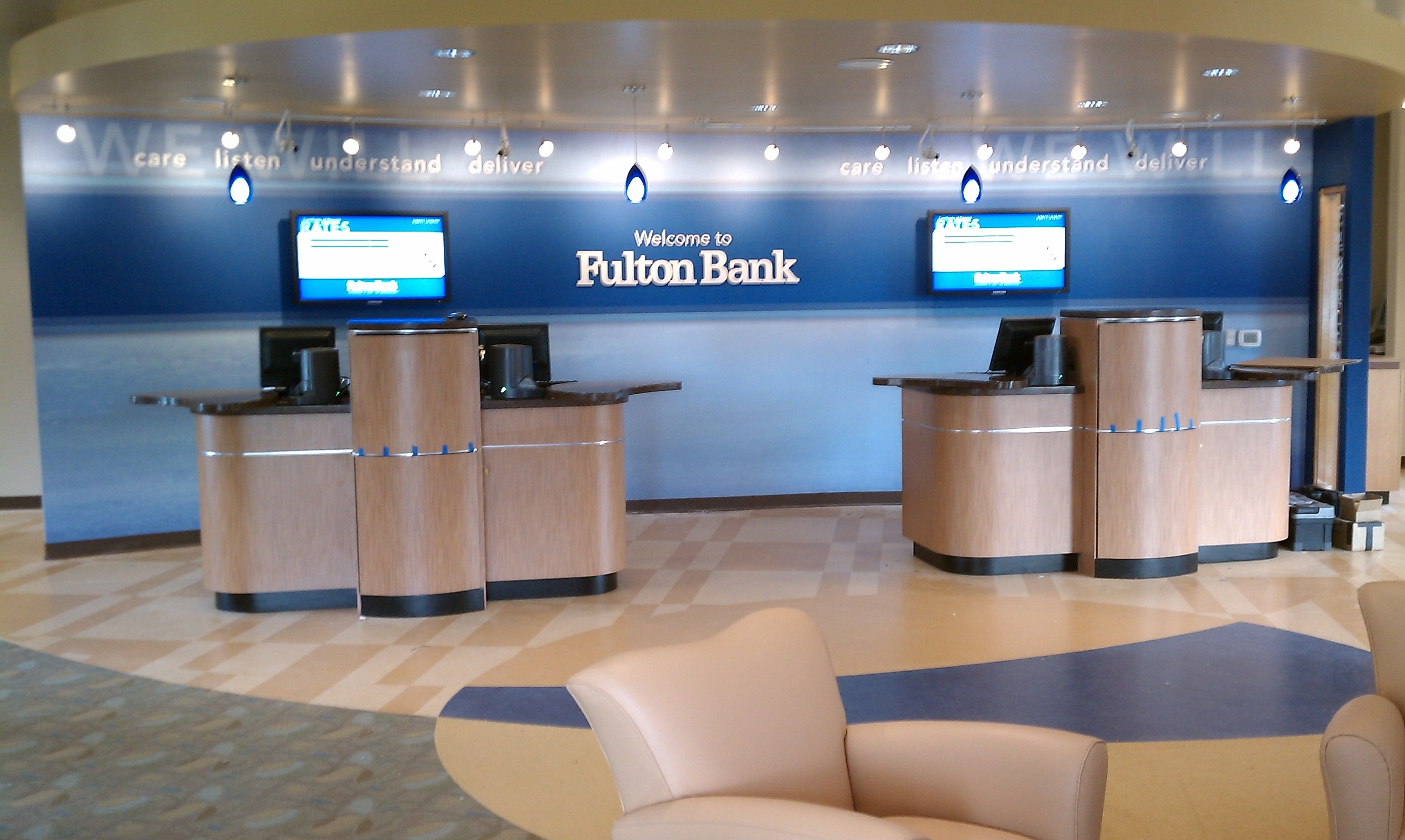 Fulton Bank is redesigning their branch network to work in