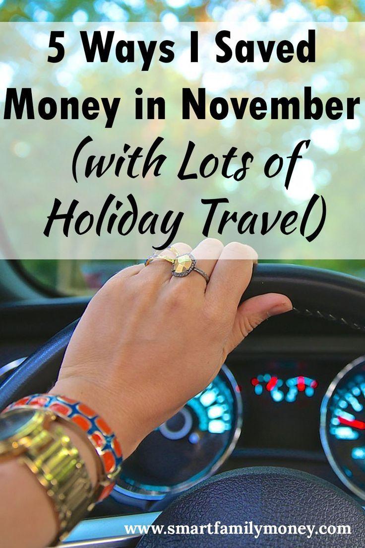 5 ways i saved money in november saving money family