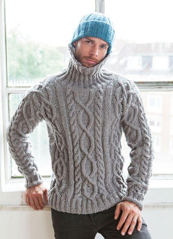 New alpaca wool sweater Blue sizes avaiable S ,M , L XL