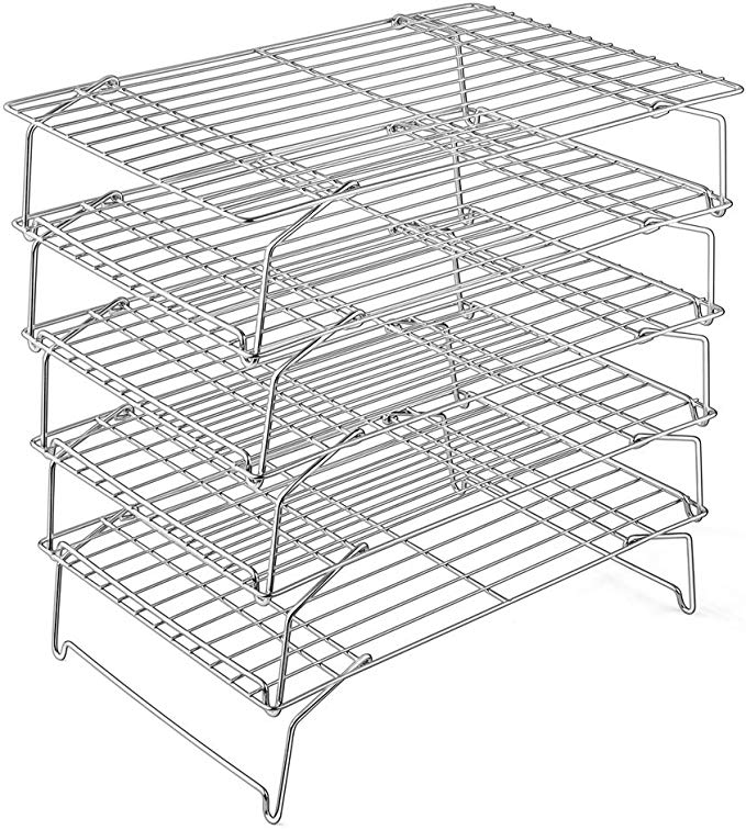 Amazon Com Cooling Rack P P Chef 5 Tier Stainless Steel