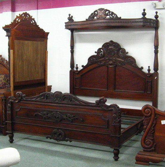 Half Tester Bed ( Antique Furniture ) - Half Tester Bed ( Antique Furniture ) For Mamacita Pinterest
