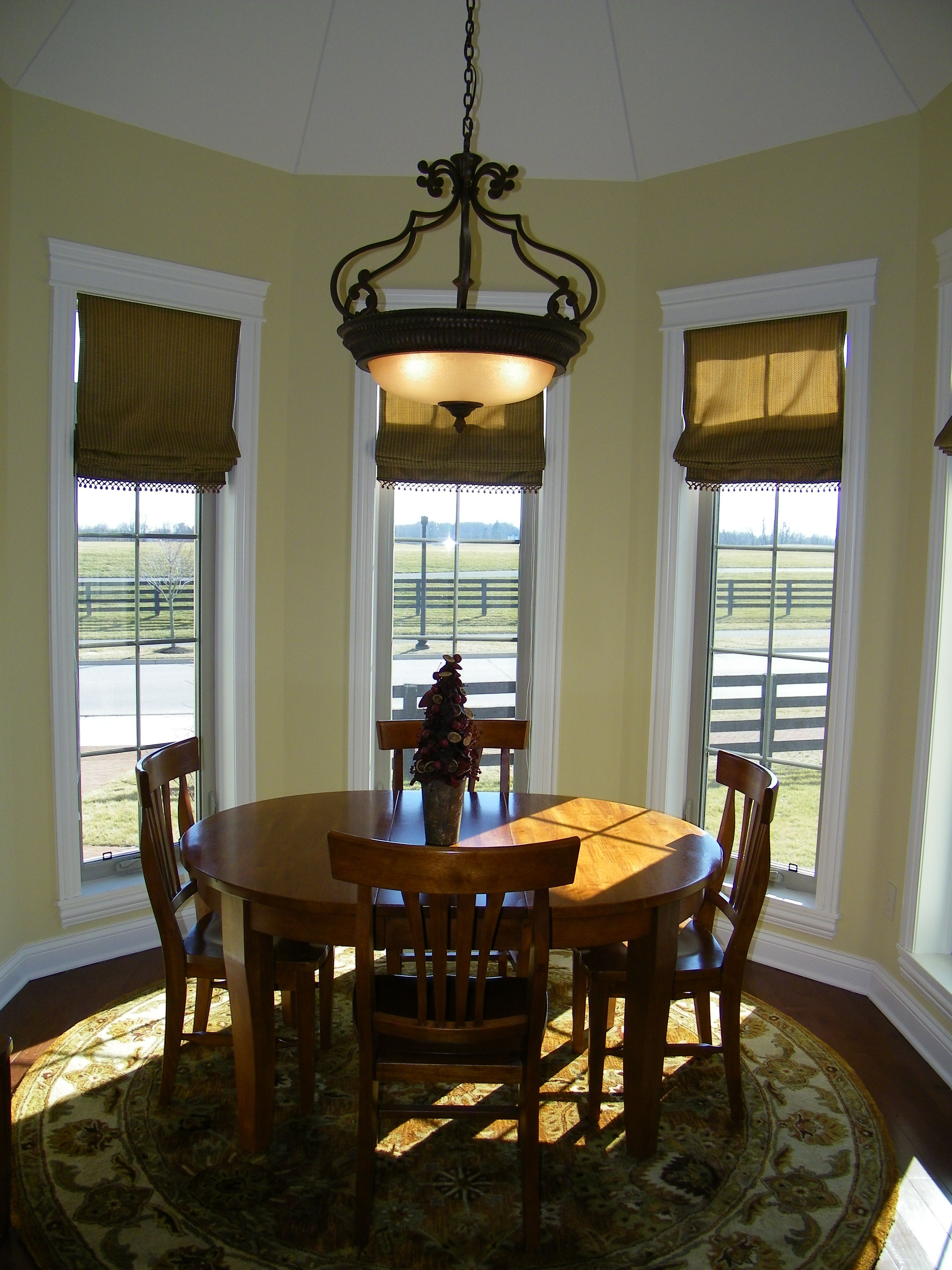 Dining area... This is an impressive example of a custom