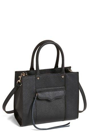 Rebecca Minkoff 'Mini MAB Tote' Crossbody Bag | No