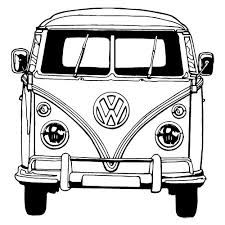 Image Result For Vw Camper Van Cartoon Sketch Peace Love And A