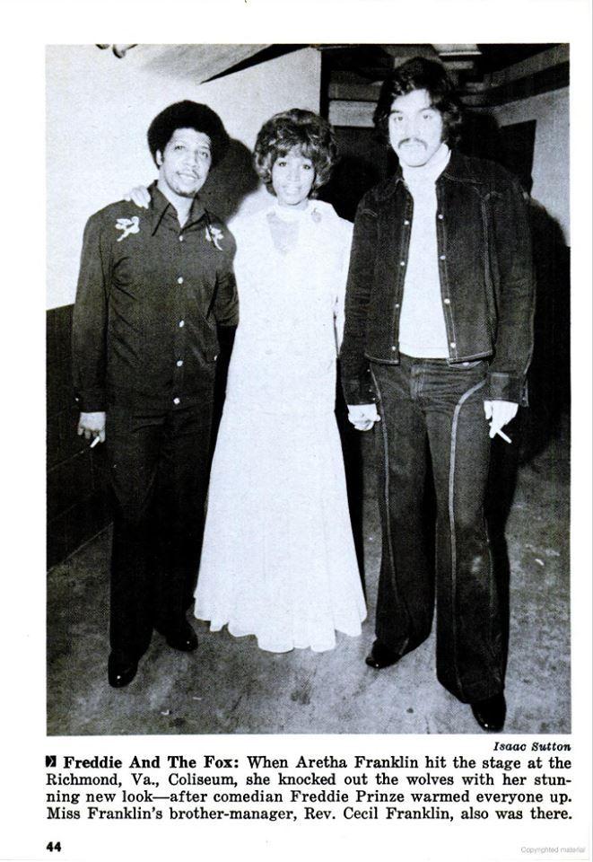 Image result for Freddie Prinze & Aretha