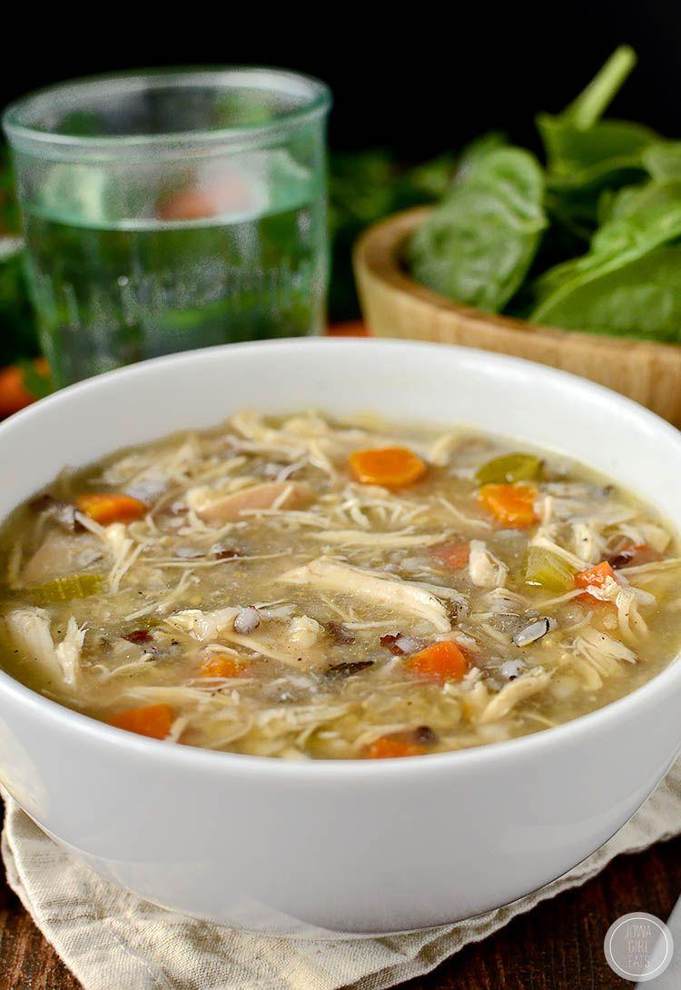 Crock pot chicken and wild rice soup recipe wild rice