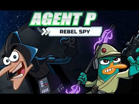 phineas e ferb: Jogos do phineas e ferb - Agent P - Rebel Spy | Gameplay