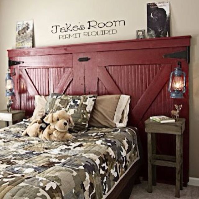 Boys Camouflage Bedroom Ideas: Cute Way To Do Camo For Boys.