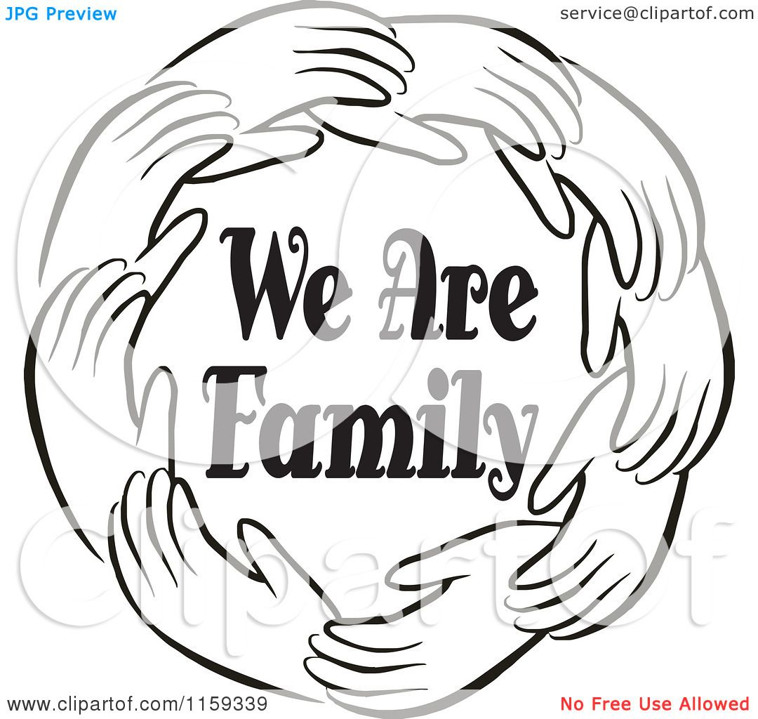 viewing gallery for family reunion clipart black and white [ 1080 x 1024 Pixel ]