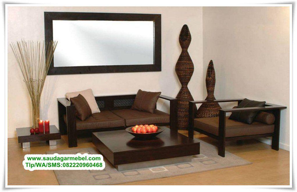 Kursi Tamu Jati Minimalis Terbaru Desain Interior Ruang Tamu
