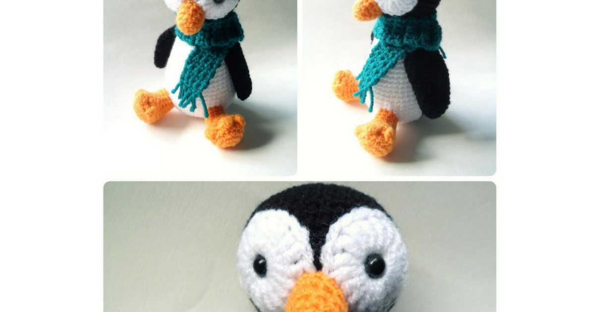 pinguino.pdf | patrones gratis | Pinterest | Patrones, Patrones ...