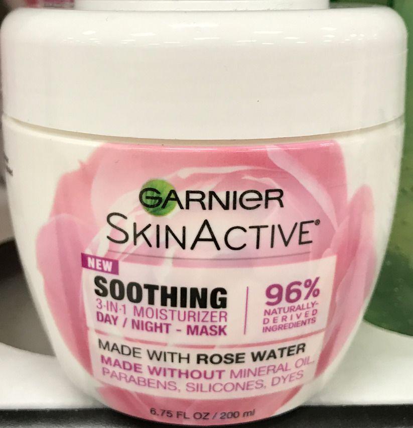 Details About Garnier Skinactive 3 In 1 Face Moisturizer With Rose Water 6 75 Oz No Parabens Garnier Skin Active Face Moisturizer Garnier