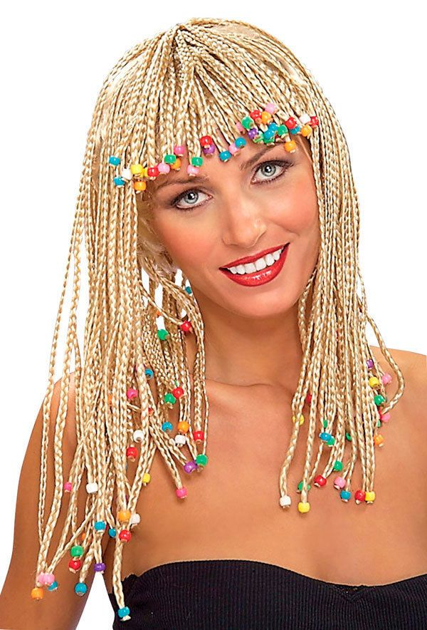 Blonde Corn Row Wig With Beads Bo Derek The Movie 10