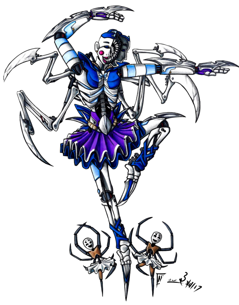 Fnaf Ballora By Deathrage22 Five Nights At Freddy S Pinterest