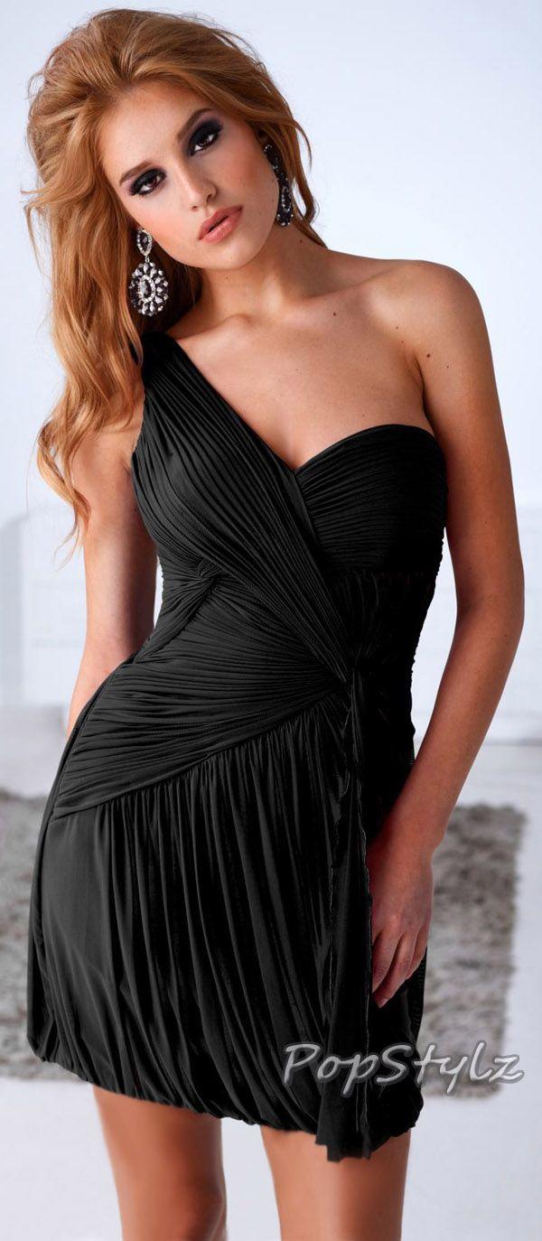Terani Couture Black Cocktail Dress | Clothes for Gals | Pinterest ...