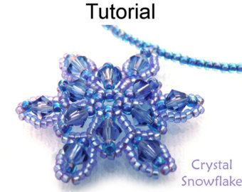 Beading tutorial pattern jewelry making beaded necklaces - Raine des neige ...