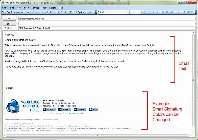 40 HTML Email Signature Template in 2020 Best email