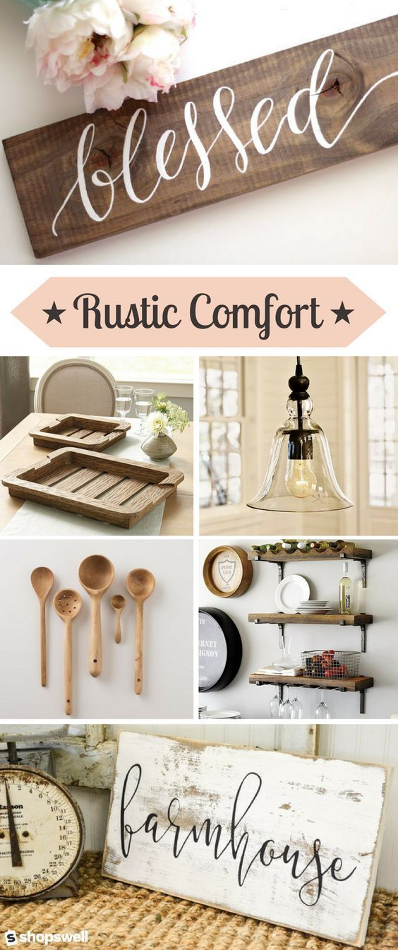 Rustic With A Touch Of Modern Country Make For One Gorgeous Cozy Home Decor Collection