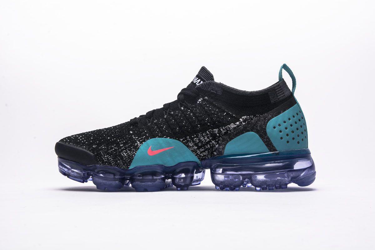 3025aea46c Nike Air VaporMax 2.0 942843-003 Black Blue Red Girls Shoes2 | Nike ...
