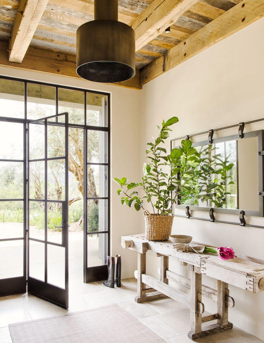 15 portes d\'entrée modernes à découvrir | Entry hallway, Extensions ...