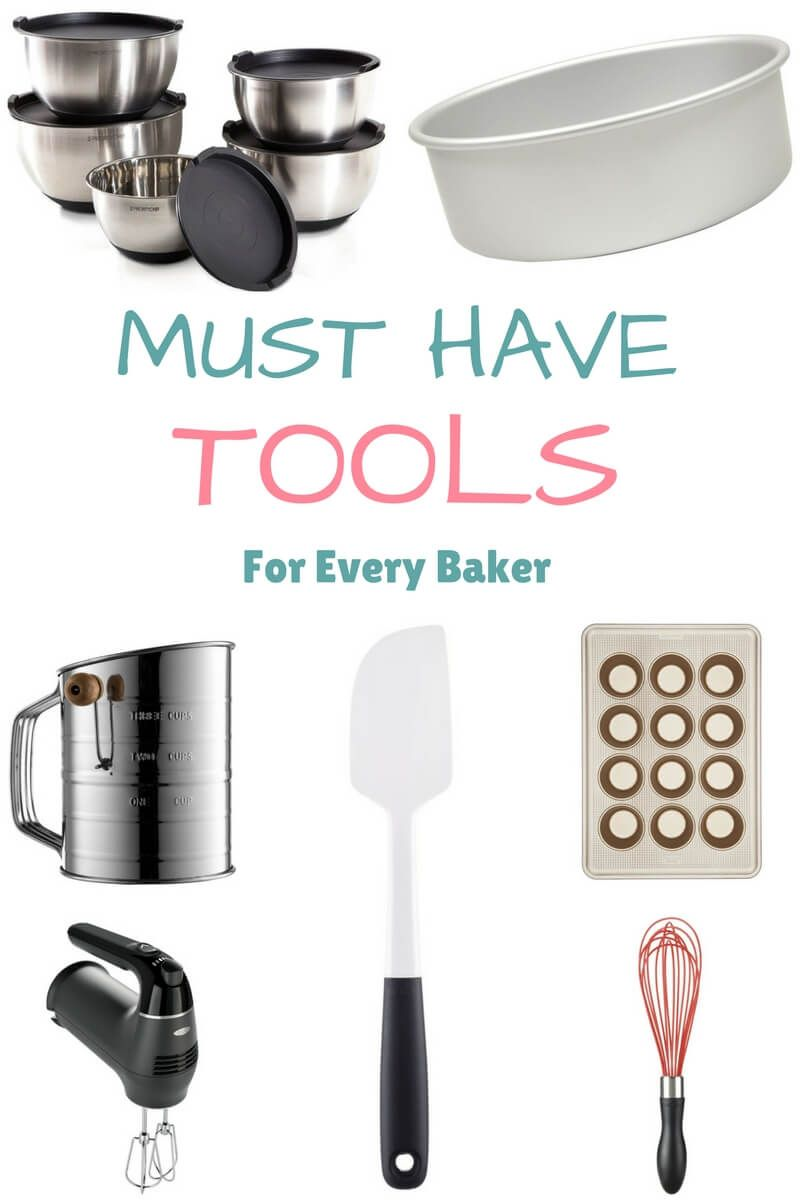 Must Have Tools For Every Baker Baking Tools Organization