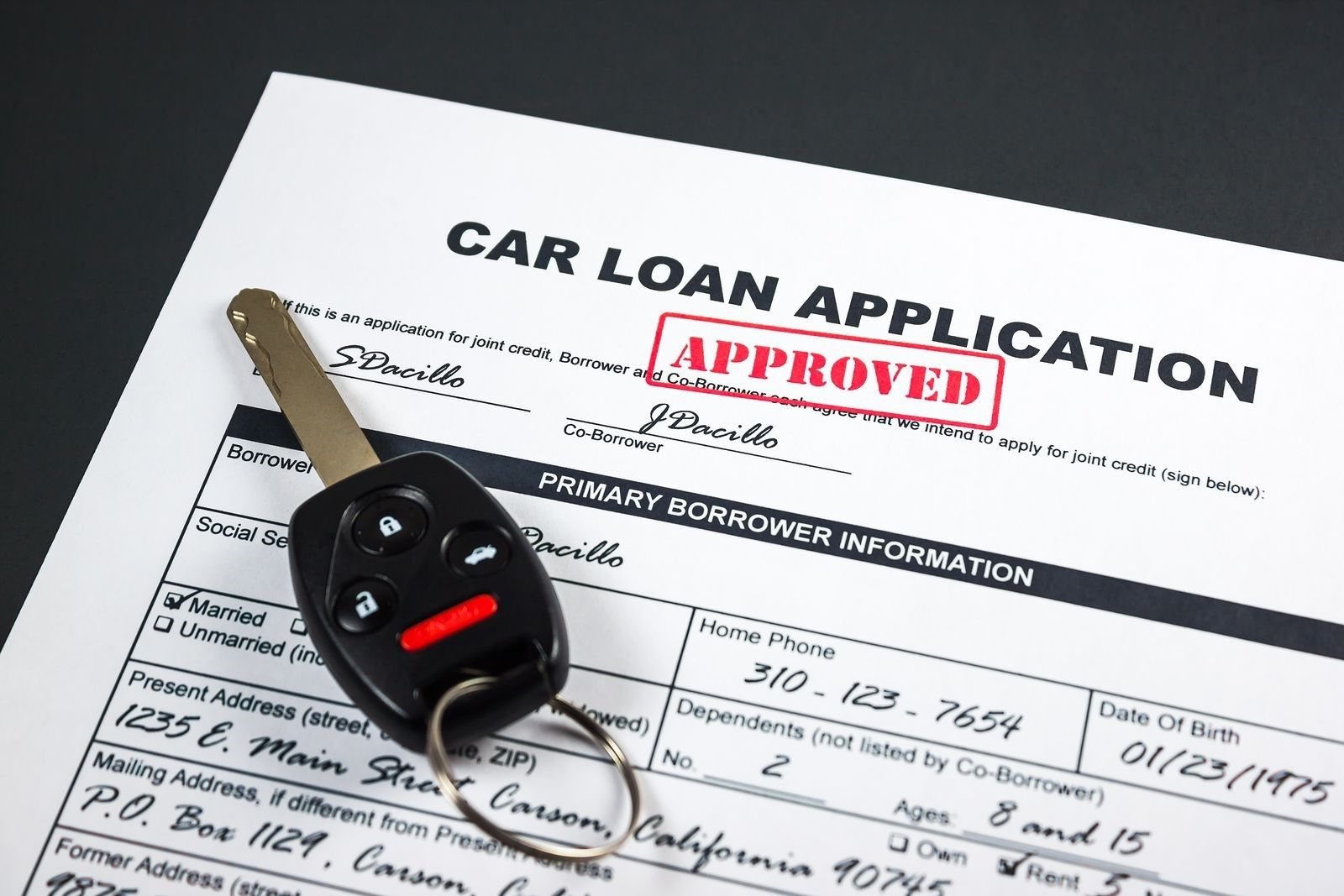 A low credit score can make it a challenge for car buyers