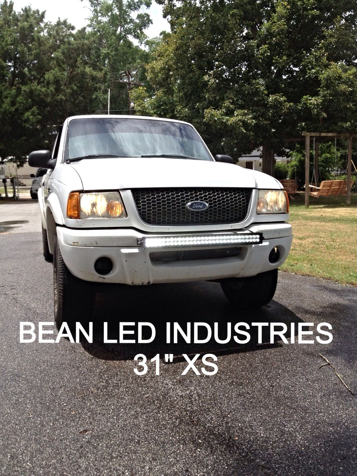 A ford ranger with a 31 xtreme series led light bar from bean led a ford ranger with a 31 xtreme series led light bar from bean led industries mozeypictures Choice Image