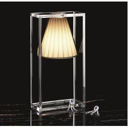 Photo of Light Air Plissee Tischleuchte rosaIkarus.de