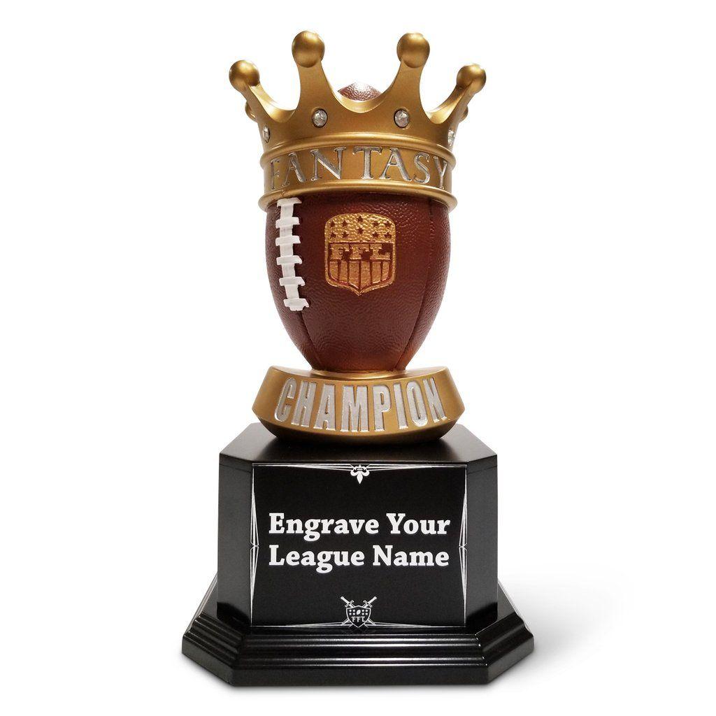 The Fantasy Crown Fantasy Football Trophy Football Trophies Fantasy Football