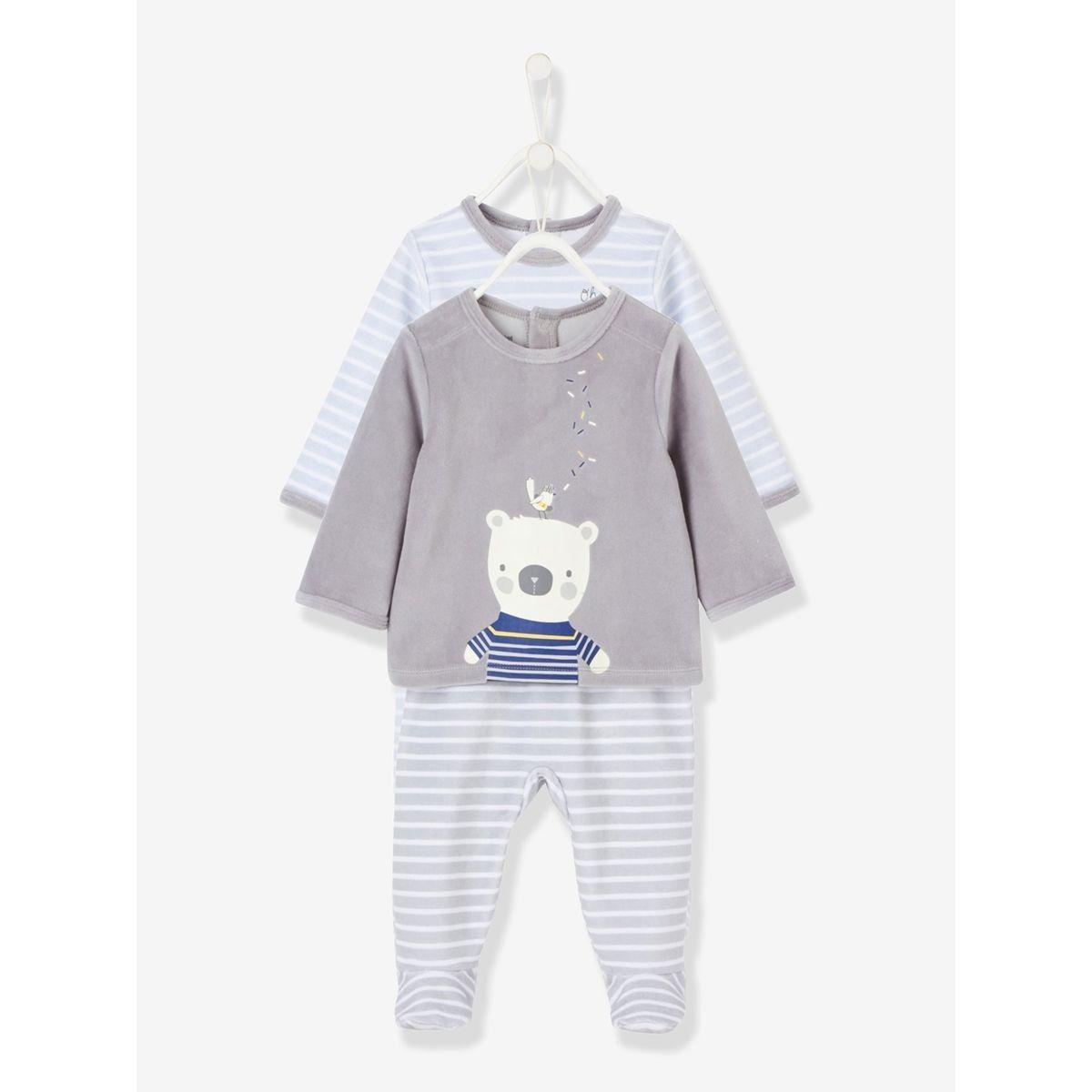 3 ans Nouveau Pack De 2 Filles pour bébé Top /& long pantalon de pyjama 0 mois