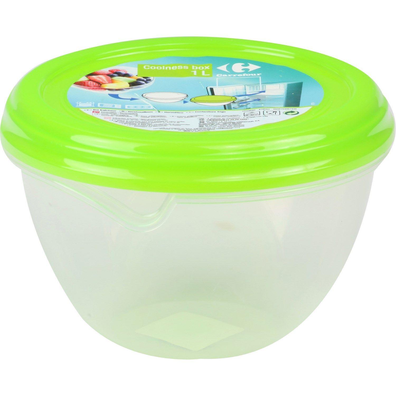 Boite Coolness Box 1 L Vert Carrefour Boite