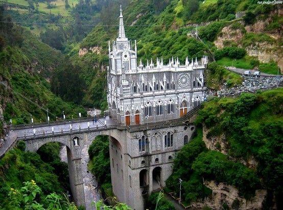 Las Lajas Sanctuary, Kolumbia