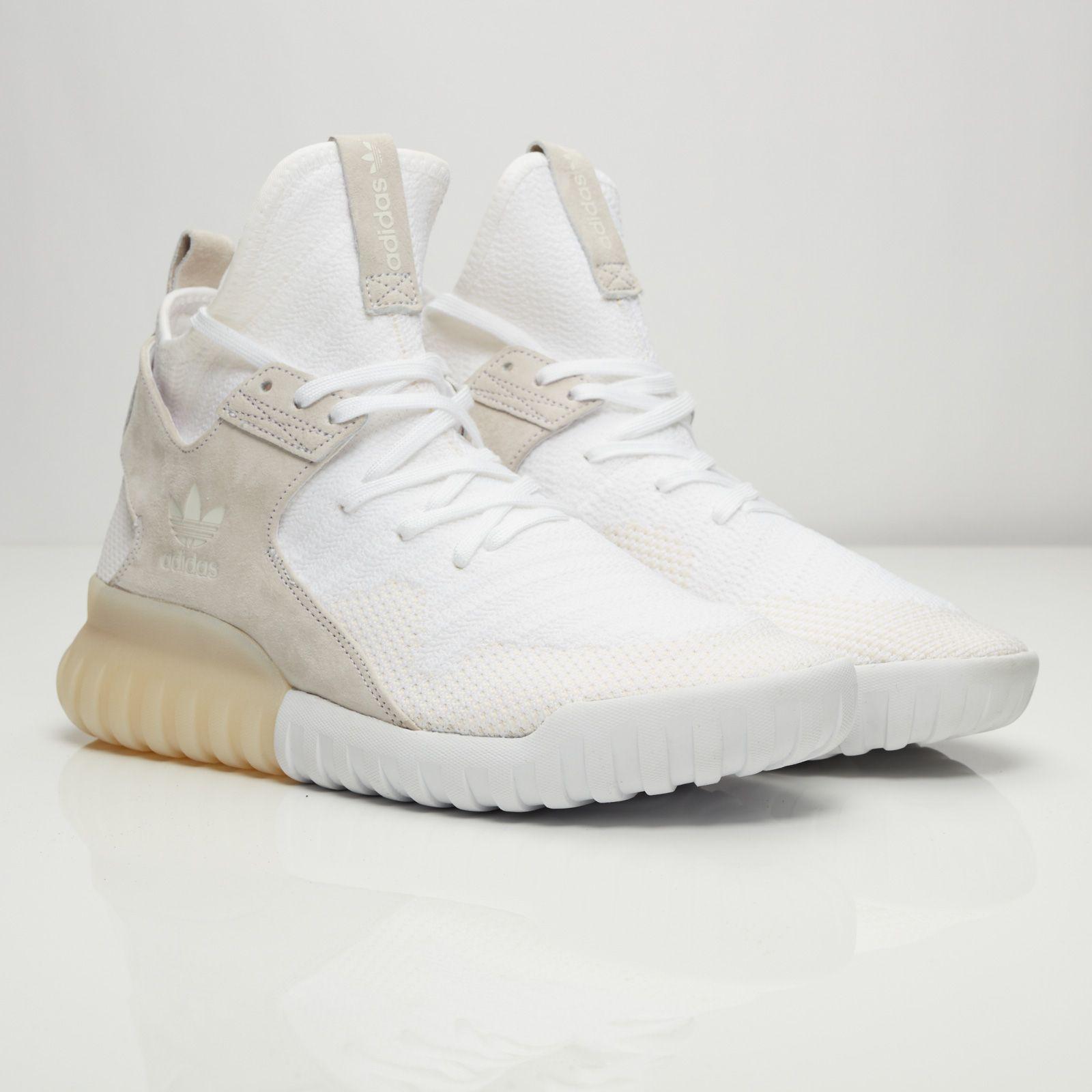 sale retailer 5e623 1b012 adidas Tubular X Primeknit. adidas Tubular X Primeknit Streetwear Online,  All White Party, Street Style Looks, Shoes