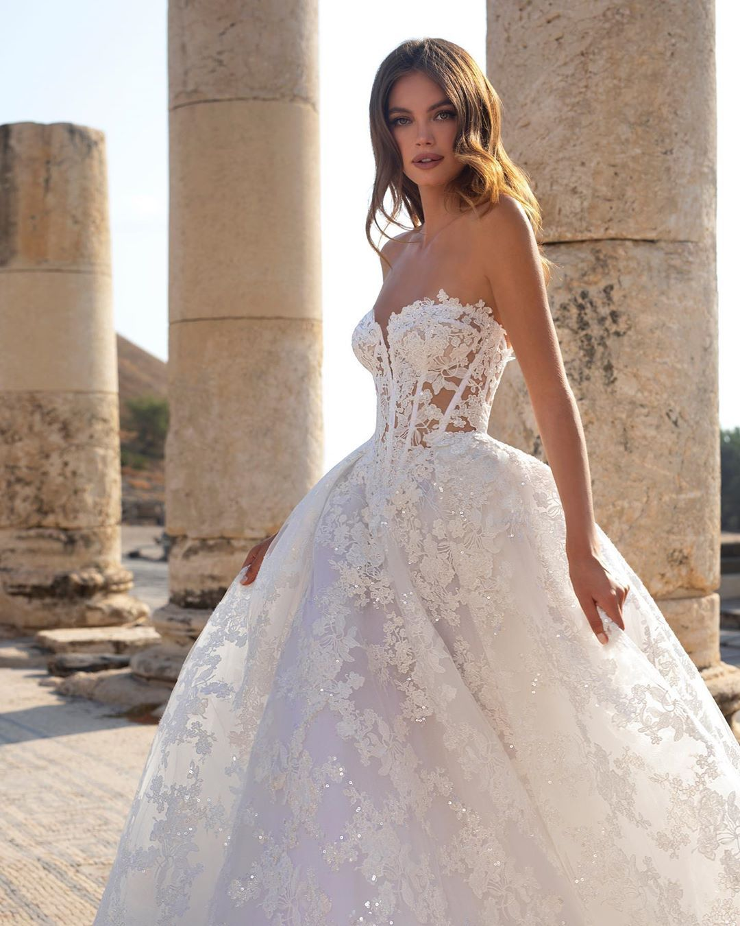 Pnina Tornai On Instagram Signature Pninatornai Corset Realcollection Style 48 Pnina Wedding Dresses Klienfeld Wedding Dresses Pnina Tornai Wedding Dress