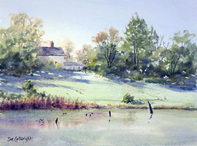Free Watercolor Painting Landscape Demonstrations How To