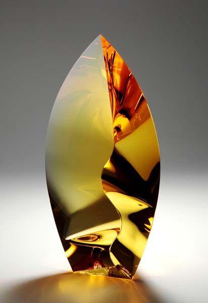 Vlastislav Janacek Title: Wilderness 1 and 2 April and December 2013 Medium: Optic Glass, Cut & Polished