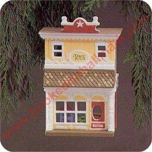 Toy Shop, Nostalgic Houses & Shops Series Hallmark Ornament, 1985