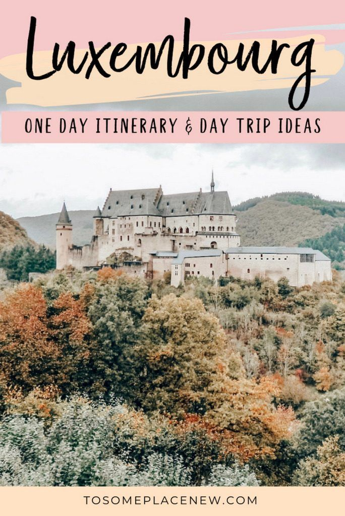 Luxembourg City Things to do in one day in Luxembourg Itinerary. | Luxembourg beautiful places to visit like the Luxembourg old town, taking day trips to Vianden, Clervaux and more. Visit the Bock Casemates, Luxembourg Grand Ducal Palace and enjoy your day trip to Luxembourg from Brussels in Belgium #luxembourg #itinerary #europetravel One day in Luxembourg Itinerary