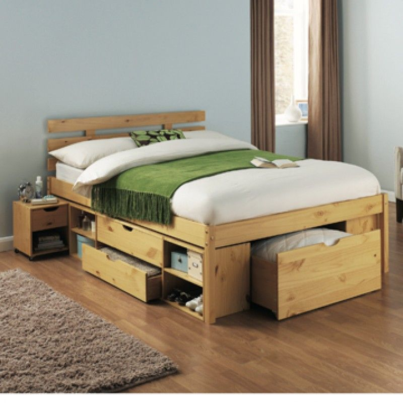 Bedroom Simple Storage Bed Frame Multiple Functions Of Beds With Storage Bed Frame With Storage Storage Bed Bed Frame