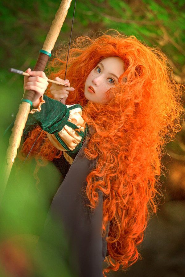 this merida cosplay is unreal delightful disney stuff pinterest kost m mottowoche und wgt. Black Bedroom Furniture Sets. Home Design Ideas