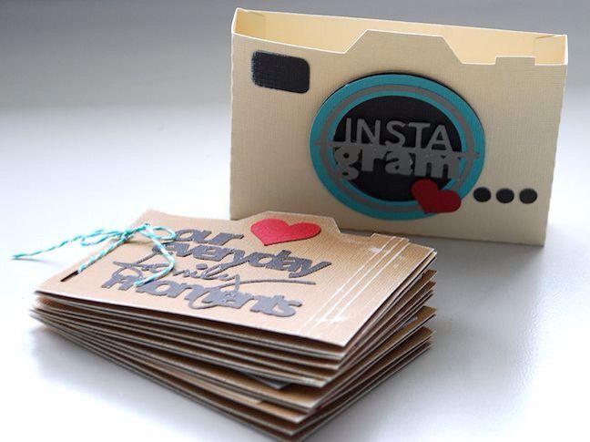 Lbum fotos diy pinterest lbum regalitos y tarjetas - Albunes de fotos caseros ...